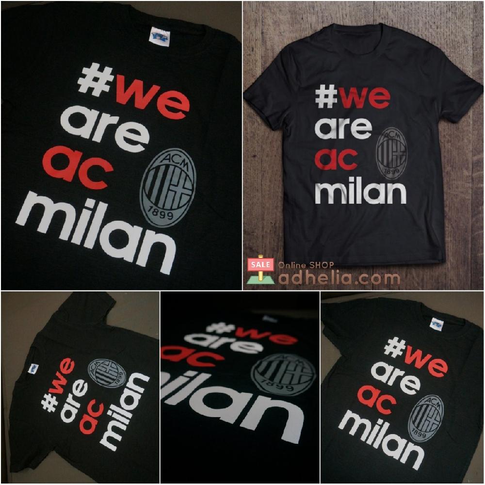 Toko Online #weareacmilan adalah hashtag yang merupakan bagian dari kampanye Adidas buat AC Milan.
