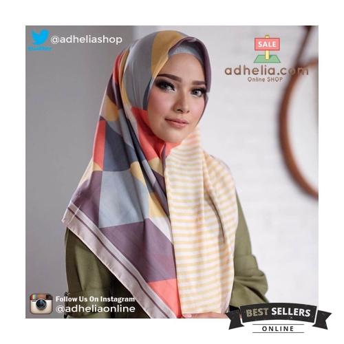 Hijab Printing / Jilbab Segi Empat Deenay Original - TRIANGLE