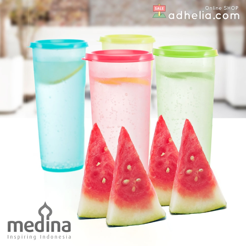 Tropic Snap N Shake tumbler set (Set Of 4)