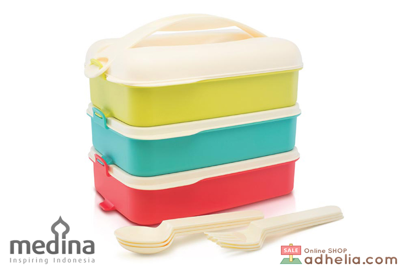 Tropic Snap N Stack lunch set