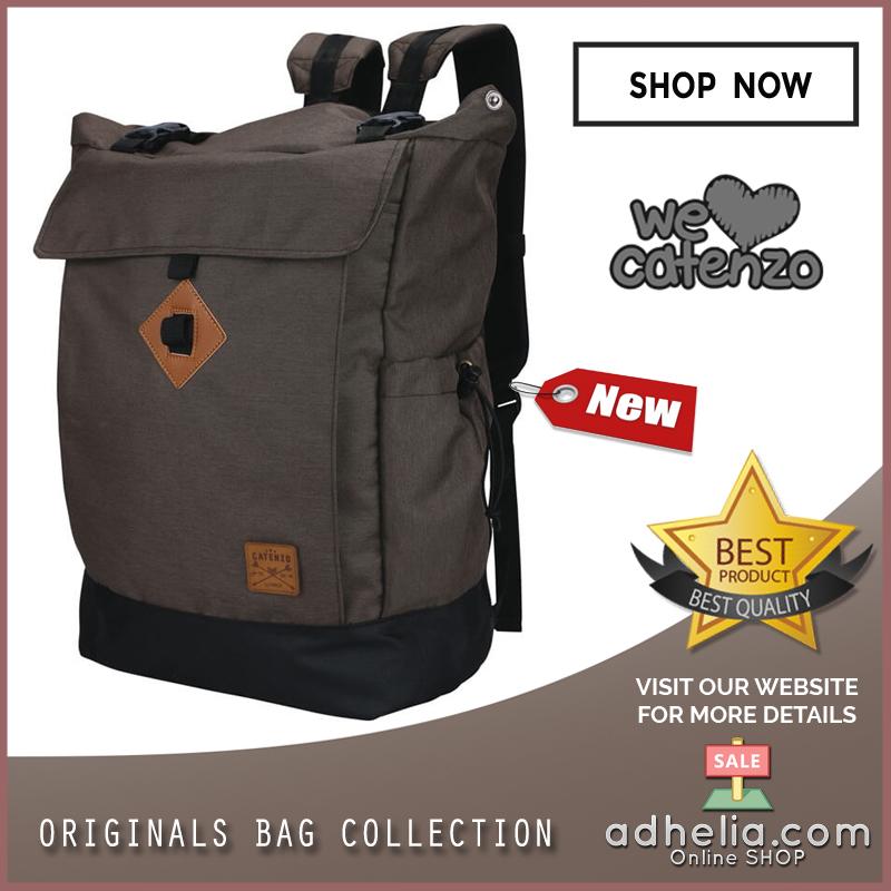 Backpack Casual Unisex Pria Wanita - MB 001